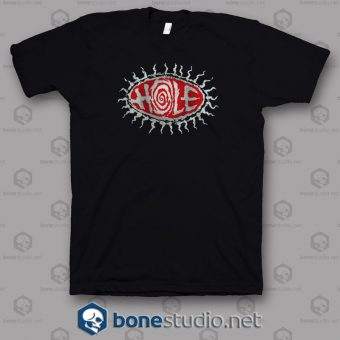 Logo Grunge Hole Band T Shirt