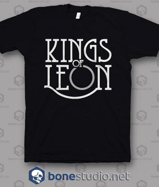 Logo Kings Of Leon Band T Shirt