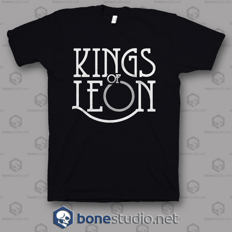 Logo Kings Of Leon Band T Shirt