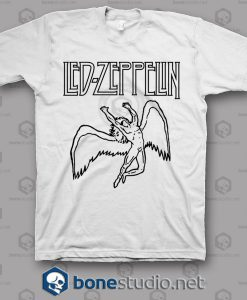 Logo Led Zeppelin Band T Shirt