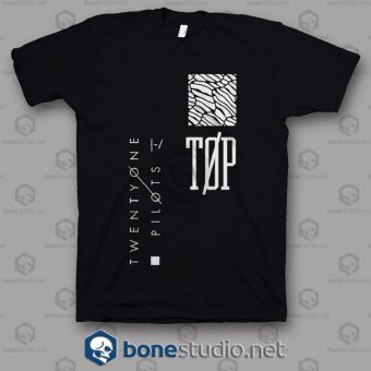 Logo Twenty One Pilots Band T Shirt