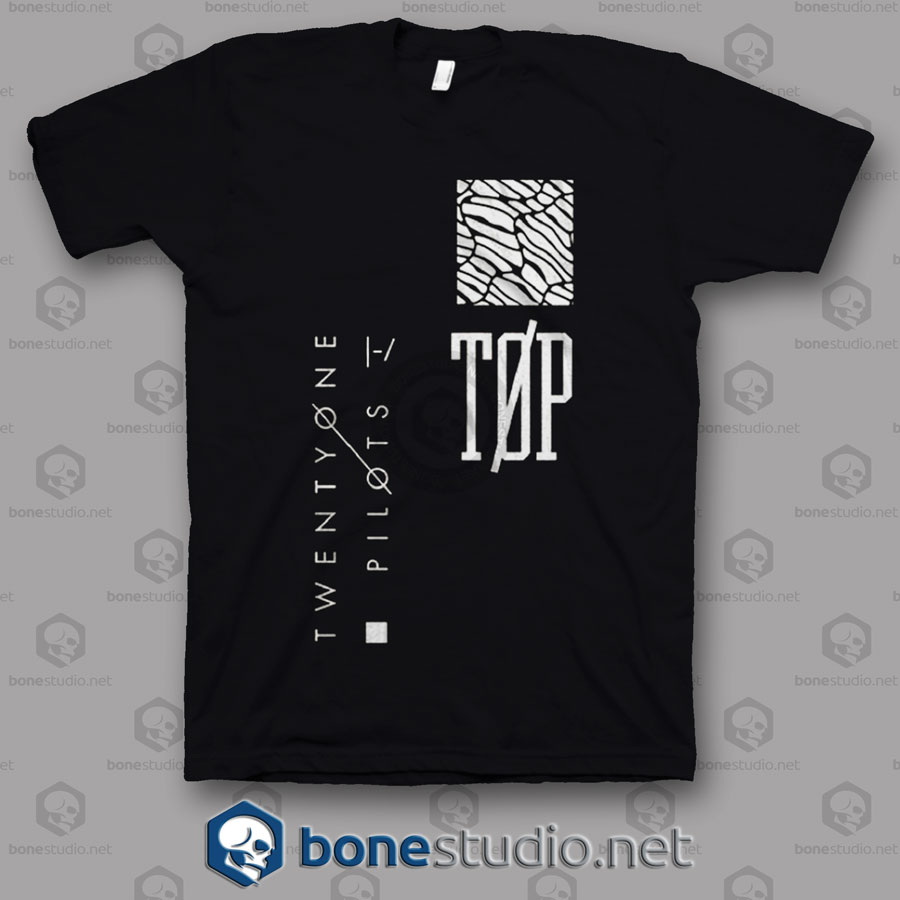 Logo Twenty One Pilots Band T Shirt