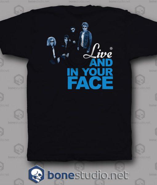 Lost Highway Bon Jovi Band T Shirt