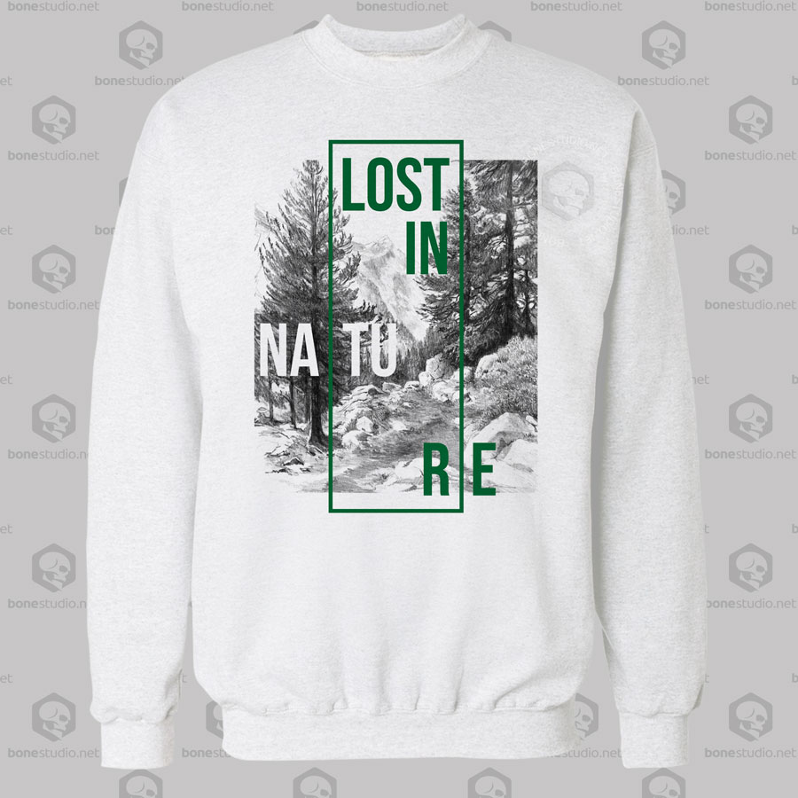 Lost In Nature Sweatshirt