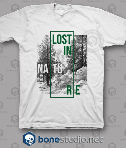 Lost In Nature T Shirt