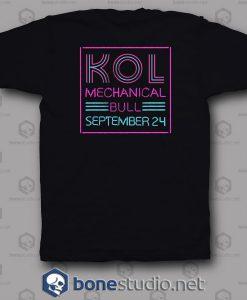 Mechanical Bull Kings Of Leon Band T Shirt