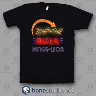 Mechanical Bull Kings Of Leon Band T Shirt