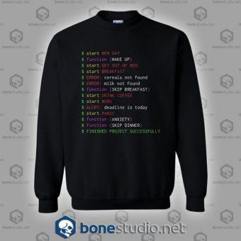 Monday Programmer Sweatshirt