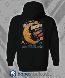 Moon Rocket Vintage Hoodies