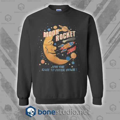 Moon Rocket Vintage Sweatshirt
