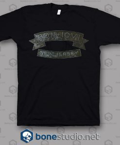 New Jersey Bon Jovi Band T Shirt