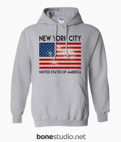 New York City USA Hoodies