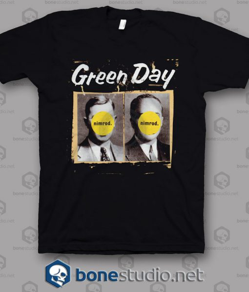 Nimrod Green Day Band T Shirt