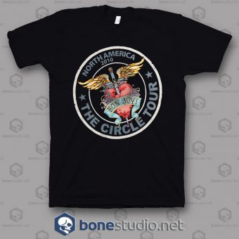 North America 2010 Tour Bon Jovi Band T Shirt