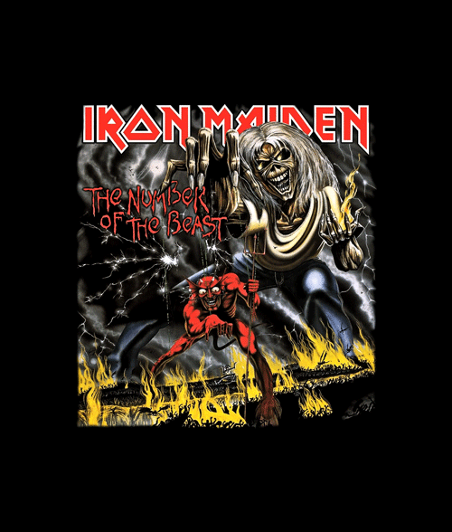 9bfdd1b5f3 Number Of The Beast Iron Maiden Band T Shirt – Adult Unisex Size S-3XL