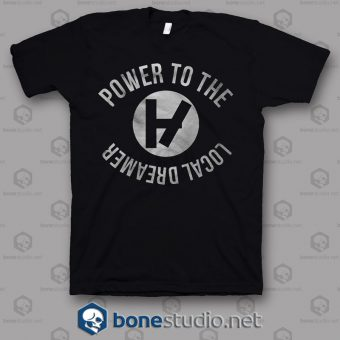 Power To The Local Dreamer Twenty One Pilots Band T Shirt