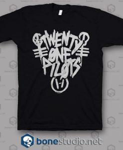 Punk Marker Twenty One Pilots Band T Shirt
