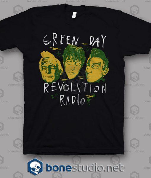 Revolution Radio Green Day Band T Shirt