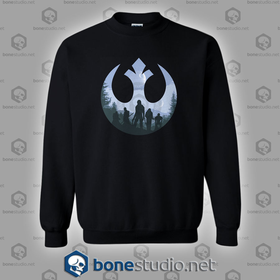 Rogue Rebel Star Wars Sweatshirt