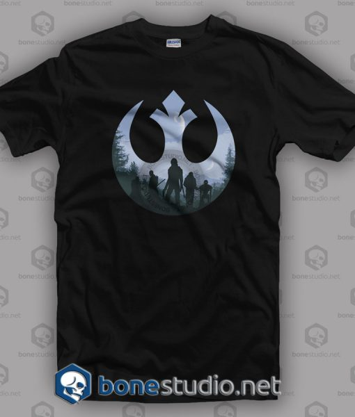 Rogue Rebel Star Wars T Shirt