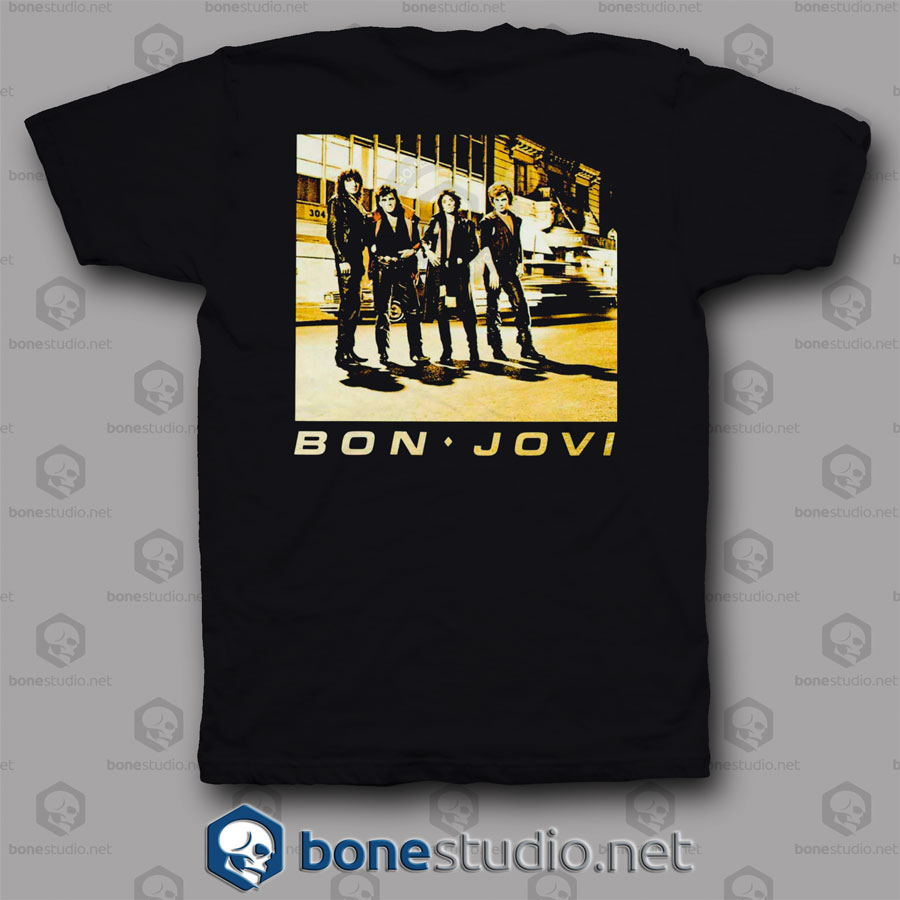 Run Away Bon Jovi Band T Shirt