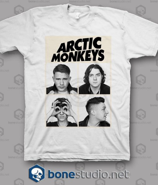 S I A S Photo Arctic Monkeys Band T Shirt