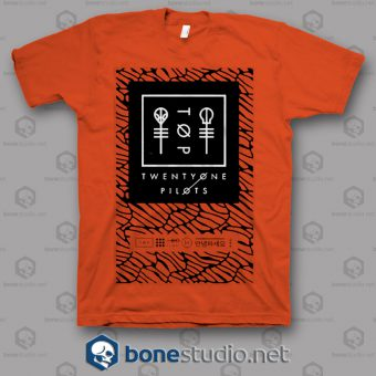 Scale Panel Twenty One Pilots Band T Shirt