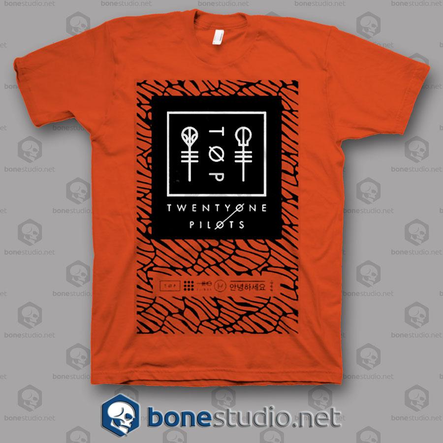 Scale Panel Twenty One Pilots Band T Shirt