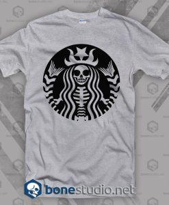 Starbuck Skeleton T Shirt