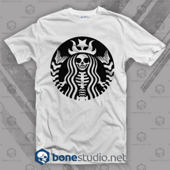 Starbuck Skeleton T Shirt