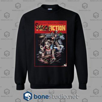 Suicide Squad Pulp Fiction Style Sweatshirt