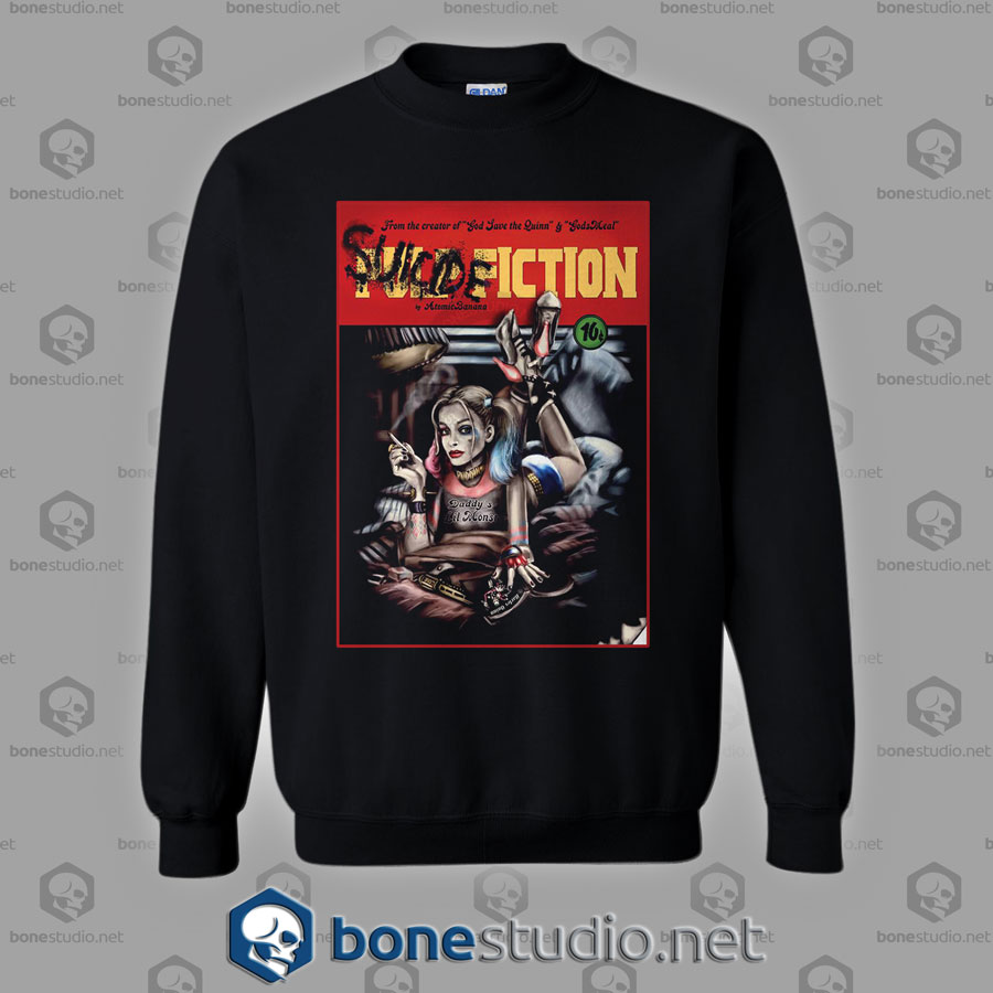Suicide Squad Pulp Fiction Style Sweatshirt