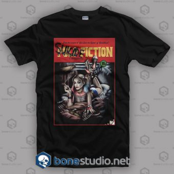 Suicide Squad Pulp Fiction Style T Shirt