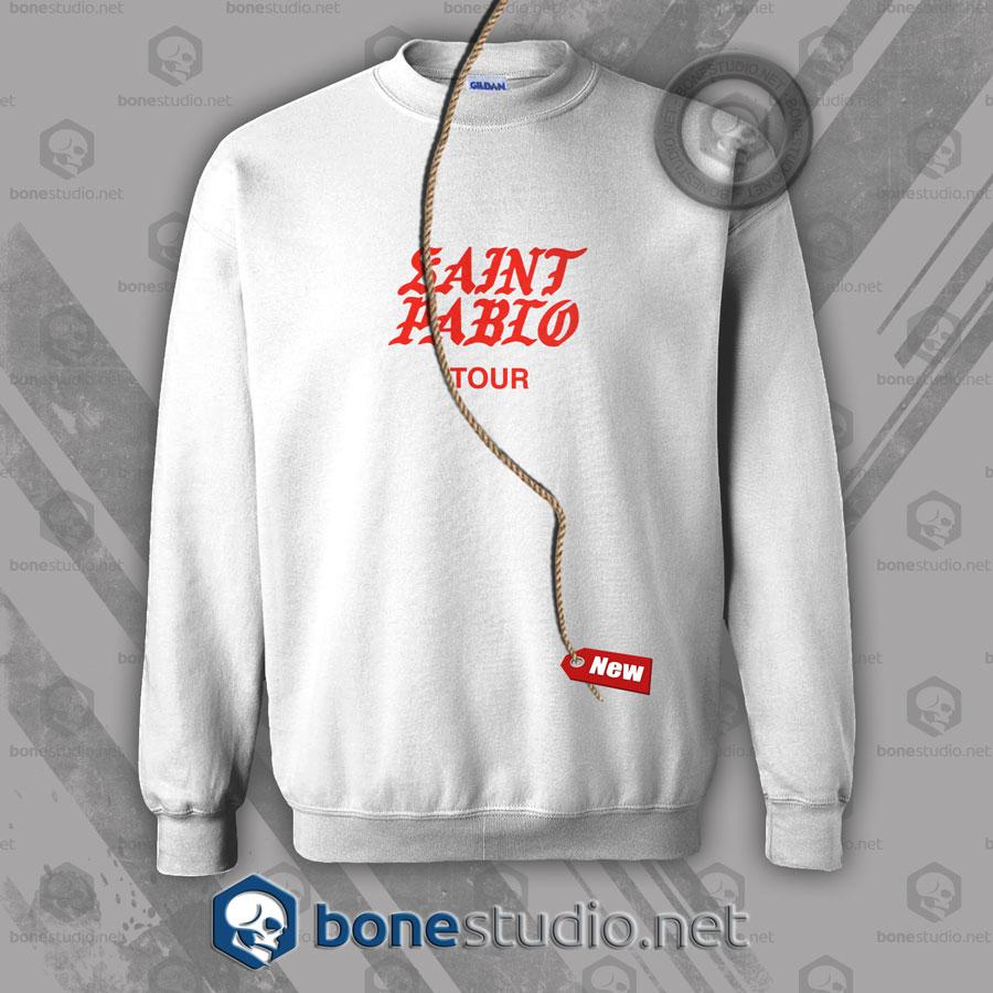 Saint Pablo Tour Kanye West Sweatshirt