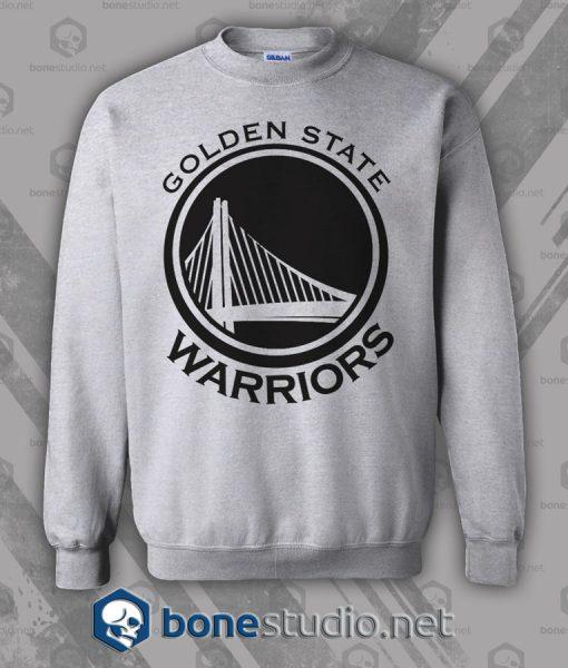 Warriors Crop Sweatshirt