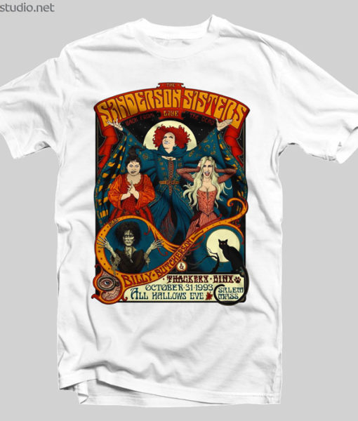 The Sanderson Sisters Live T Shirt