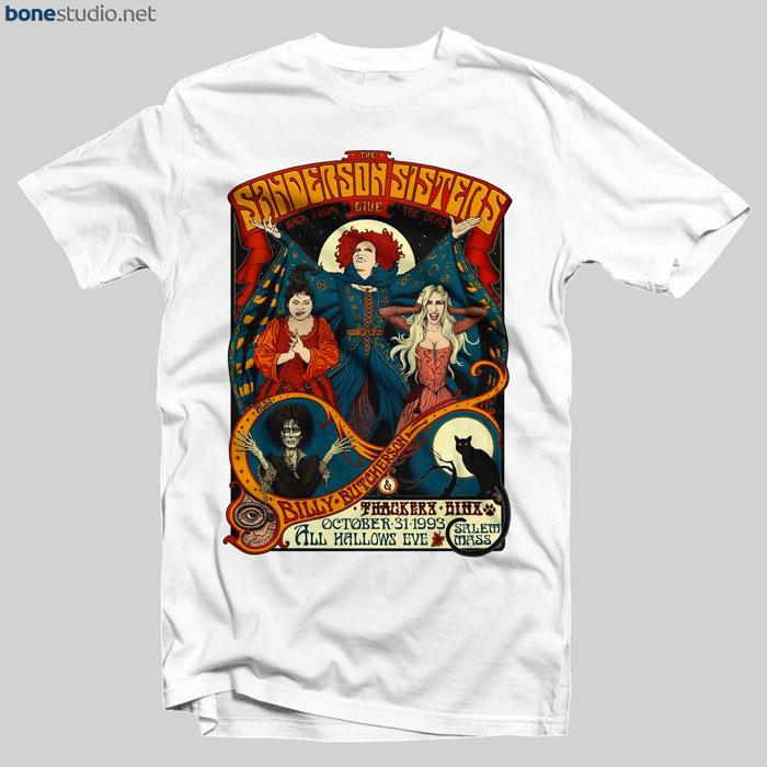 The Sanderson Sisters Live T Shirt