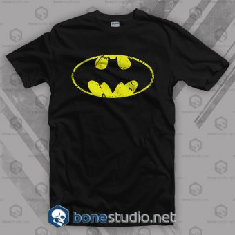 Grunge Logo Batman T Shirt