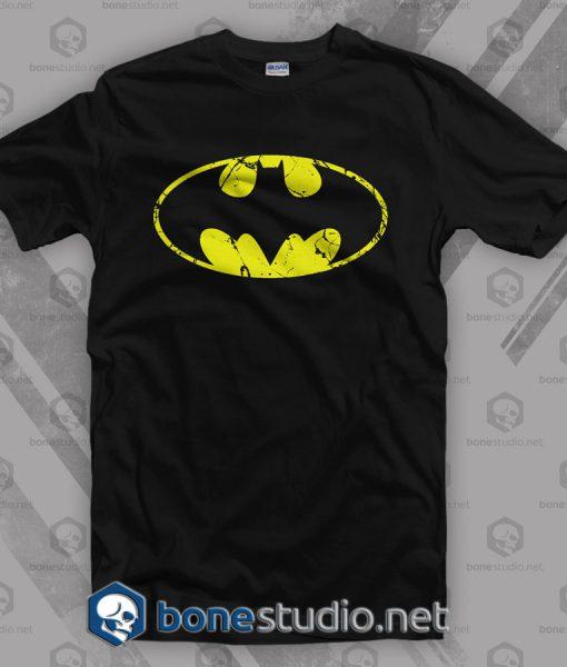 Grunge Logo Batman T Shirt