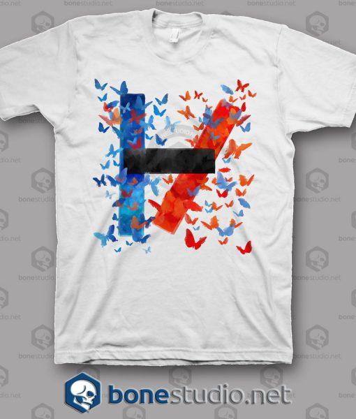 Tatto Twenty One Pilots Band T Shirt