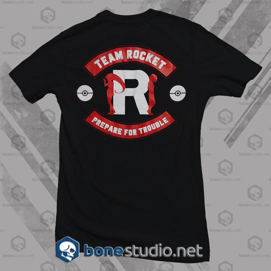 Team Rocket Prepare For Trouble T Shirt