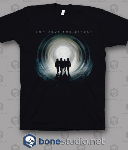 The Circle Bon Jovi Band T Shirt
