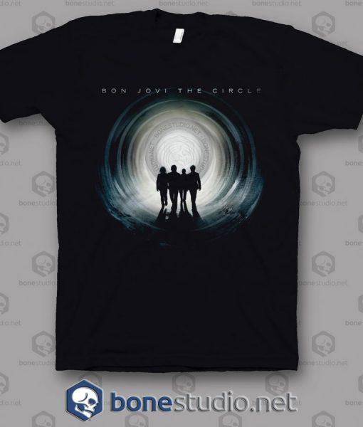 The Circle Tour Bon Jovi Band T Shirt