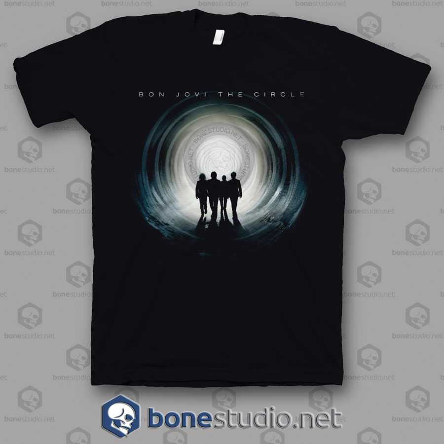 The Circle Tour Bon Jovi Band T Shirt