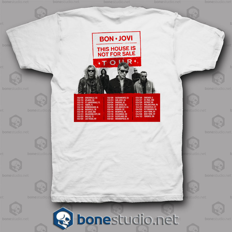 This House Is Bon Jovi Band T Shirt