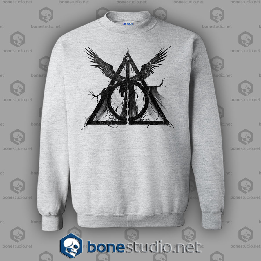 Three Brothers Tale Harry Potter Style Sweatshirt