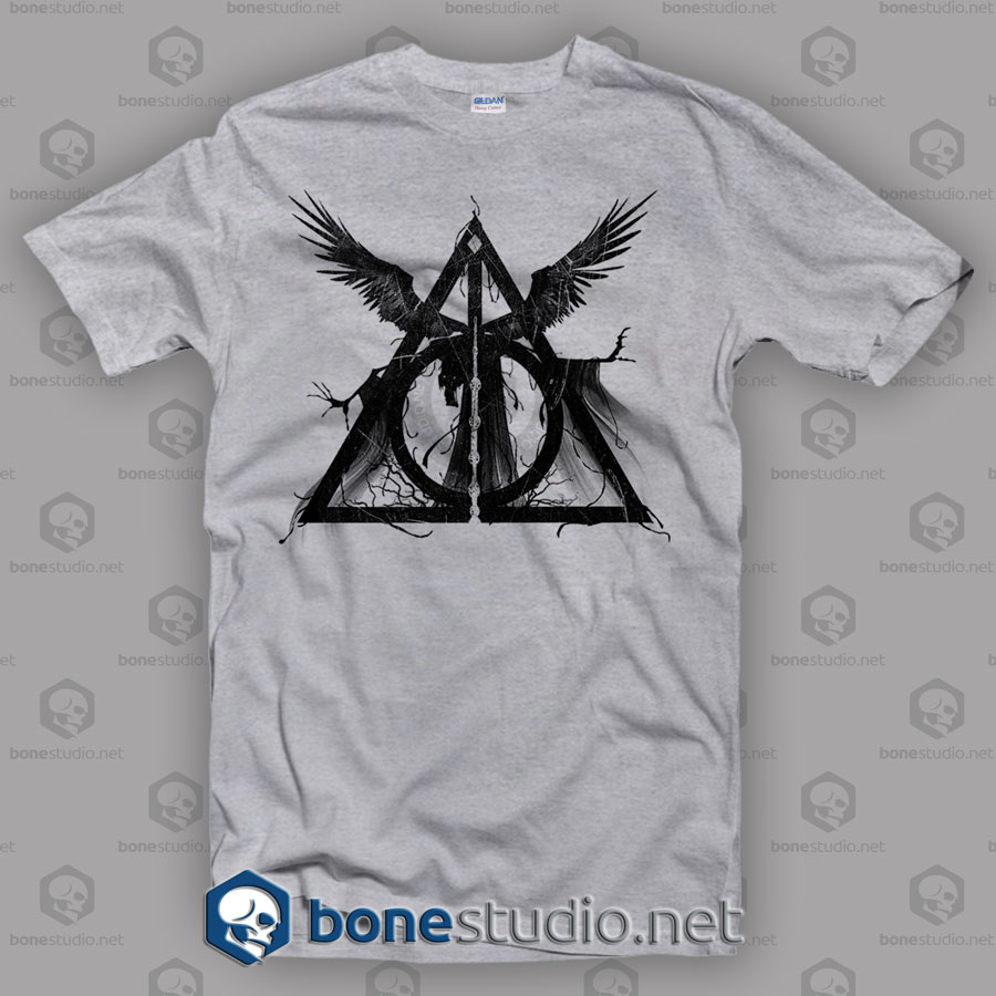Three Brothers Tale Harry Potter Style T Shirt
