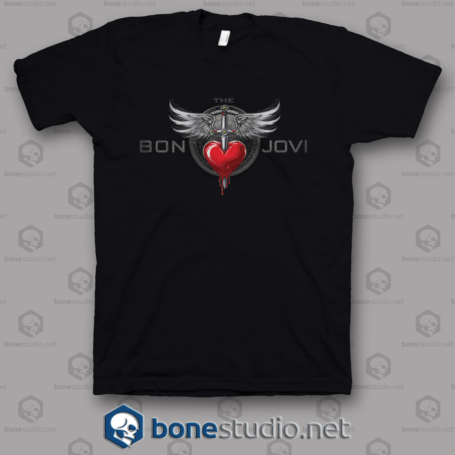 Trbt Bon Jovi Band T Shirt