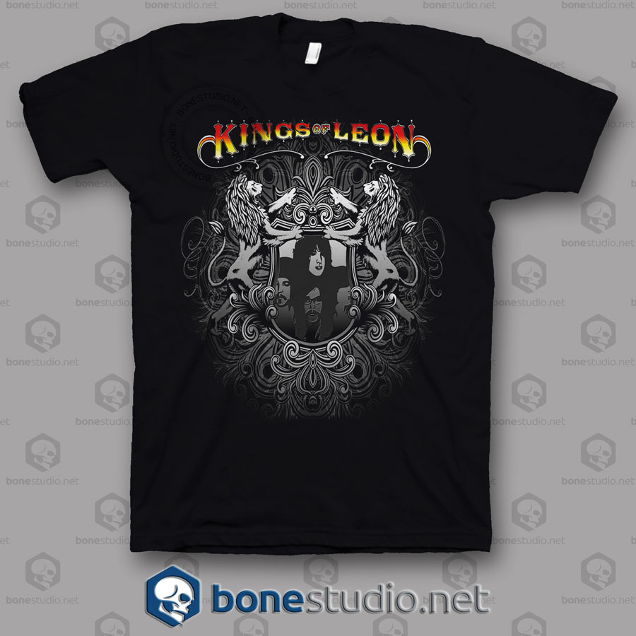 Tribal Kings Of Leon Band T Shirt
