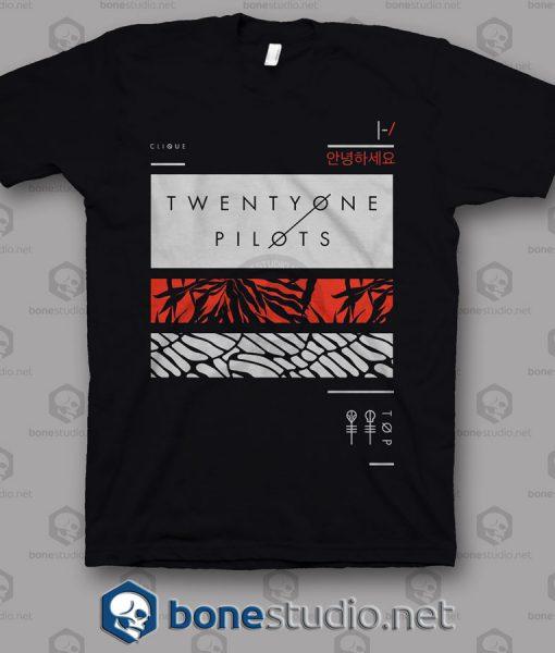 Twenty One Pilots Band T Shirt